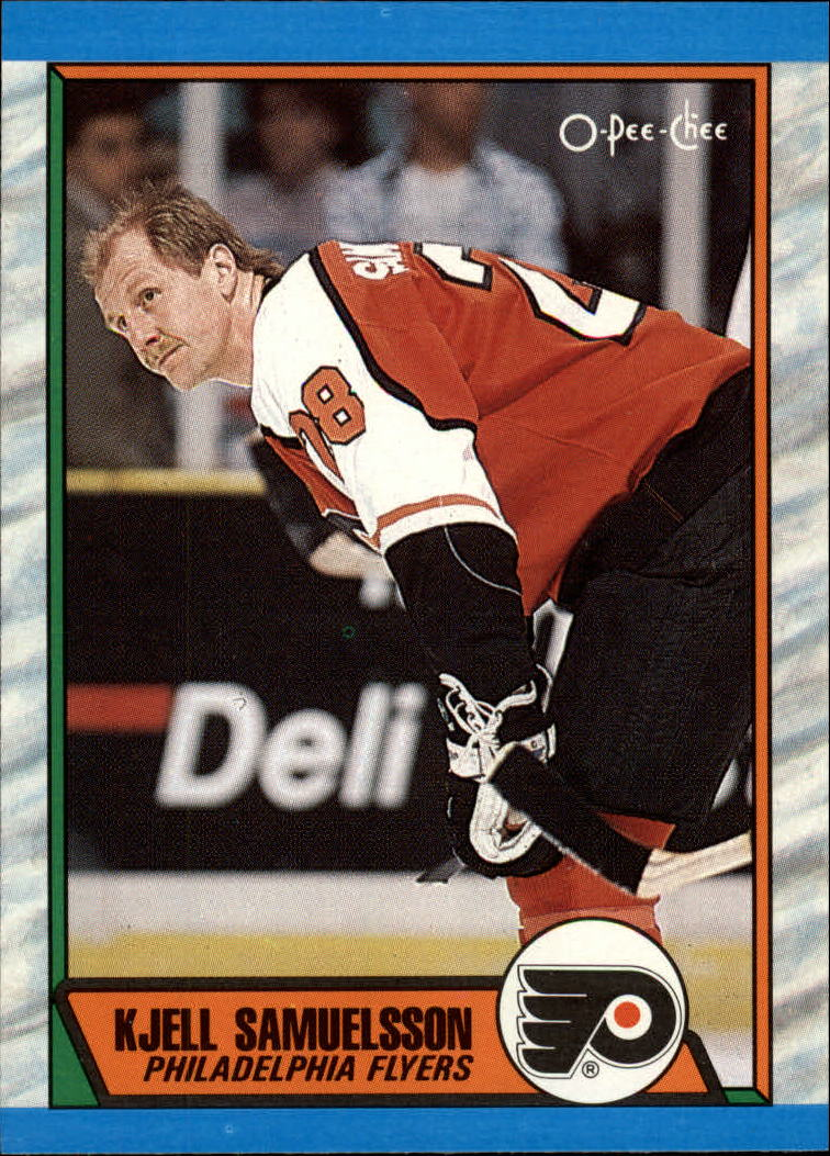 1989-90 O-Pee-Chee #100 Kjell Samuelsson RC
