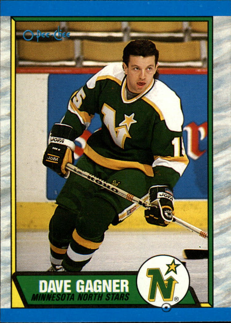 1989-90 O-Pee-Chee #109 Dave Gagner