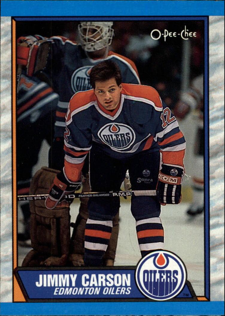 1989-90 O-Pee-Chee #127 Jimmy Carson