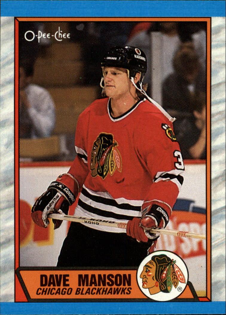 1989-90 O-Pee-Chee #150 Dave Manson RC