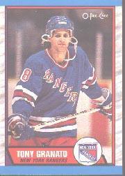 1989-90 O-Pee-Chee #161 Tony Granato RC