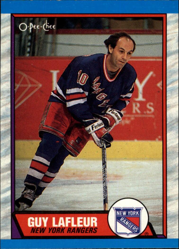 1989-90 O-Pee-Chee #189 Guy Lafleur