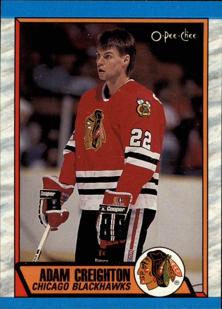 1989-90 O-Pee-Chee #218 Adam Creighton RC