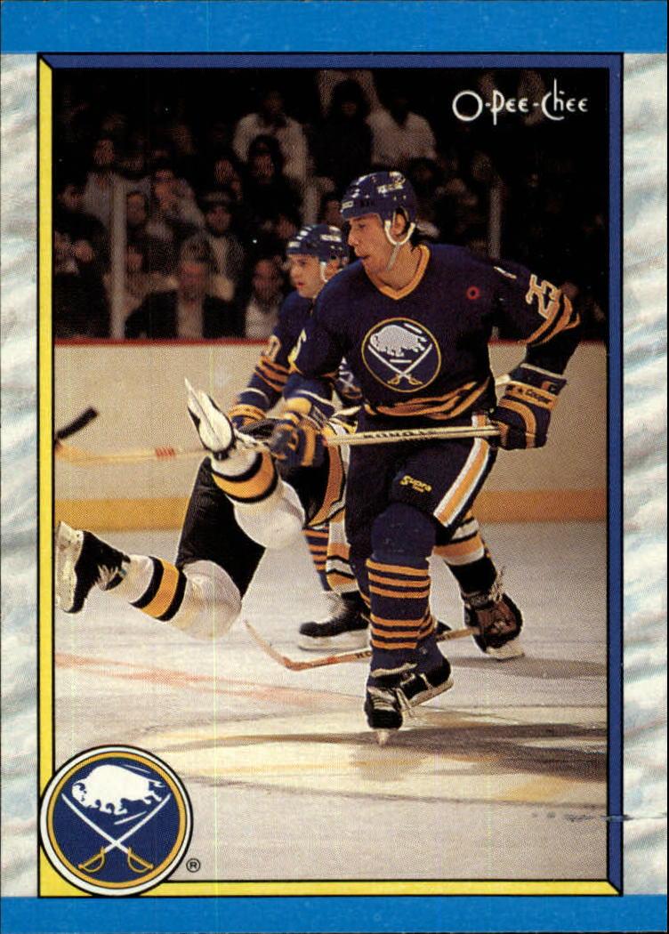 1989-90 O-Pee-Chee #299 Buffalo Sabres