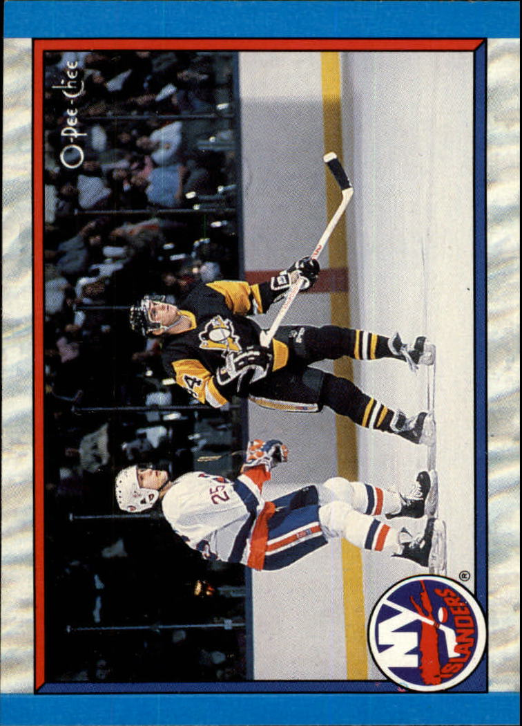 1989-90 O-Pee-Chee #309 New York Islanders