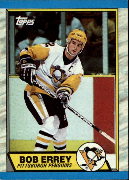 1989-90 Topps #50 Bob Errey DP RC