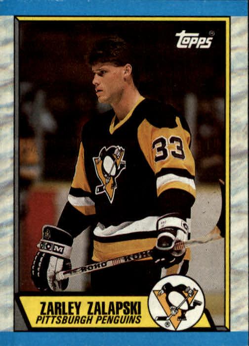 1989-90 Topps #168 Zarley Zalapski RC