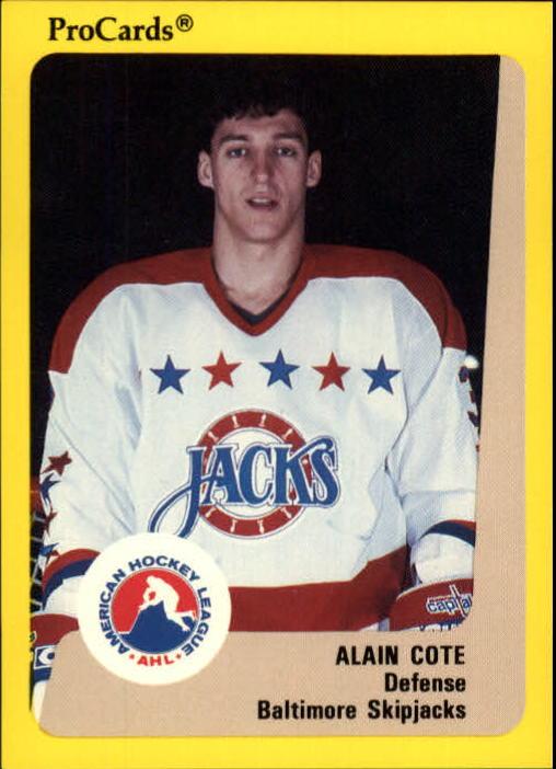1989-90 ProCards AHL #102 Alain Cote