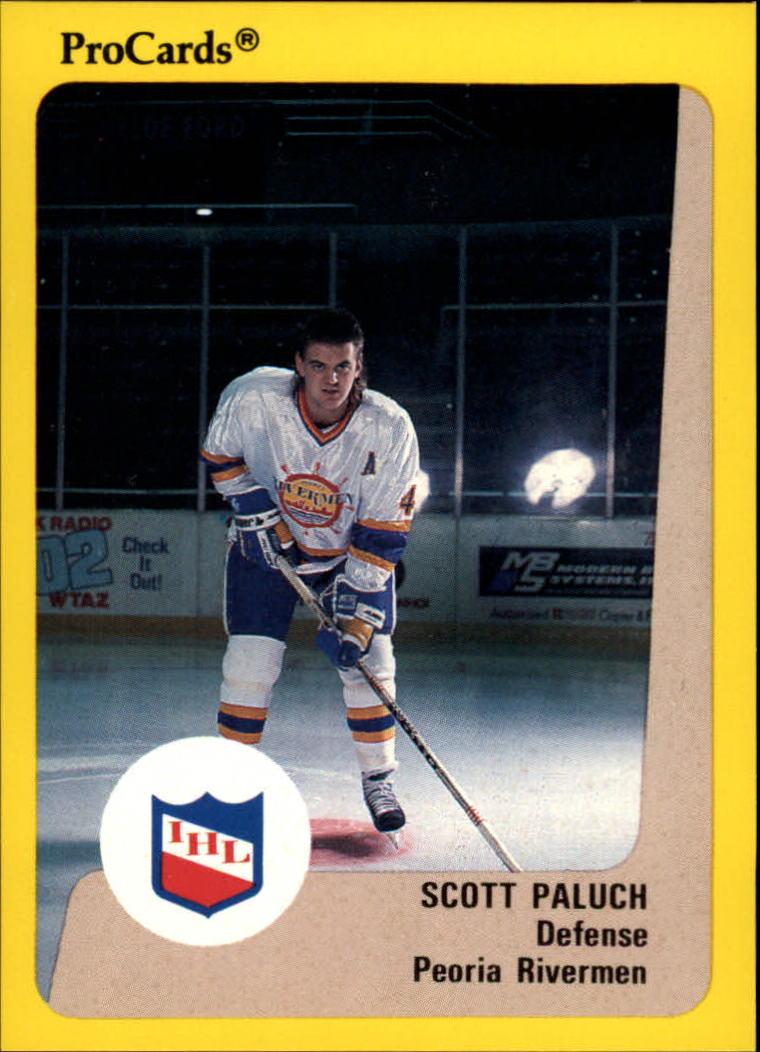 1989-90 ProCards IHL #4 Scott Paluch