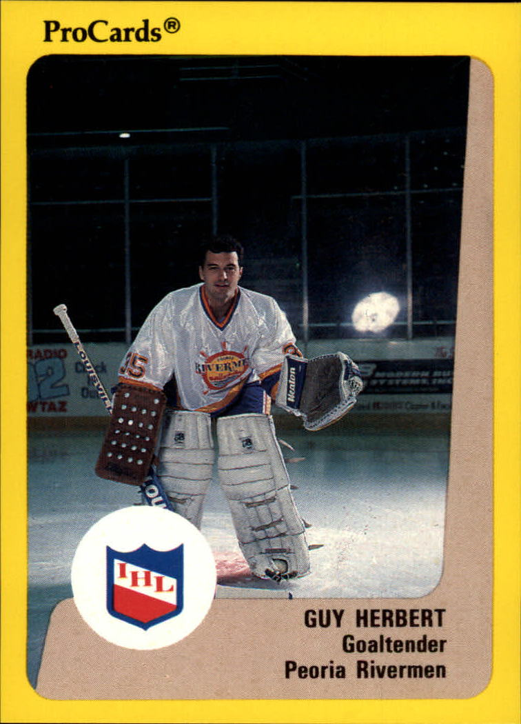 1989-90 ProCards IHL #5 Guy Hebert