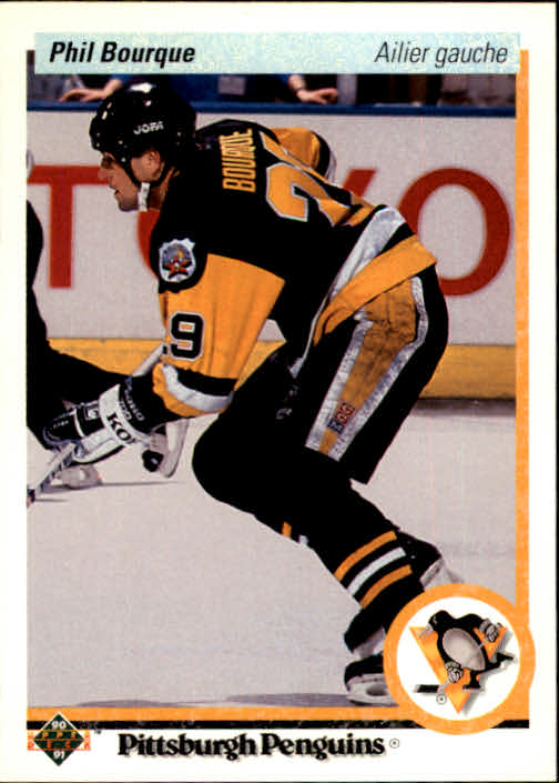 1990-91 Upper Deck French #31 Phil Bourque