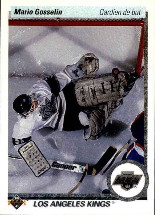 1990-91 Upper Deck French #91 Mario Gosselin