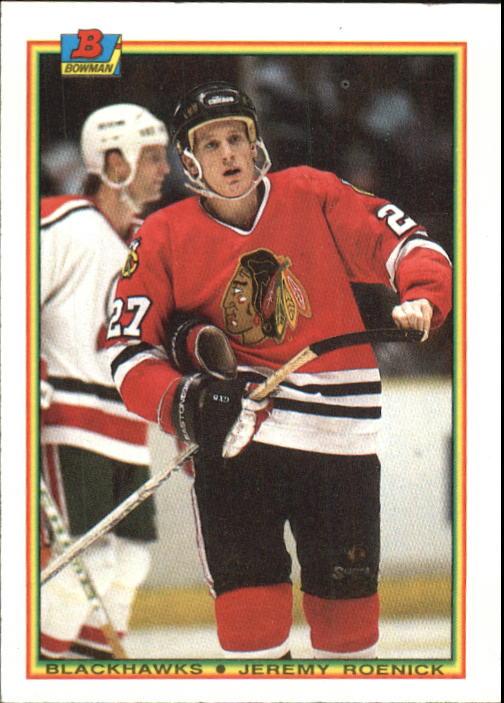 1990-91 Bowman #1 Jeremy Roenick RC