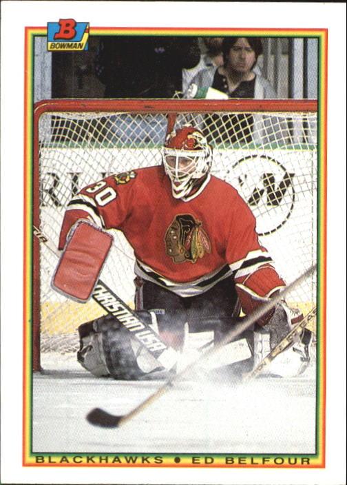 1990-91 Bowman #7 Ed Belfour RC