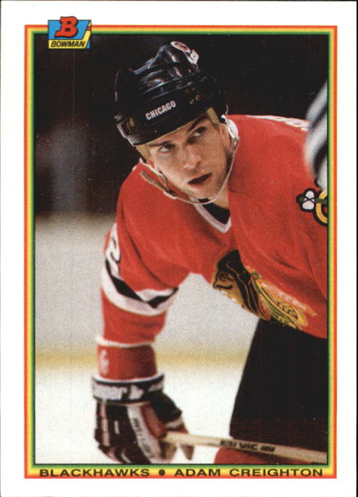 1990-91 Bowman #9 Adam Creighton