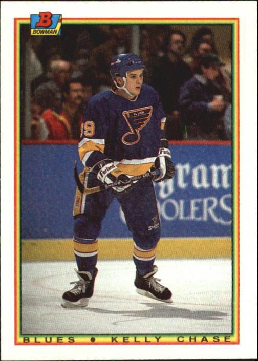 1990-91 Bowman #14 Kelly Chase RC