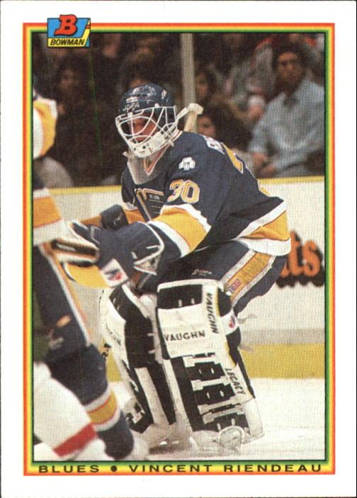 1990-91 Bowman #20 Vincent Riendeau RC