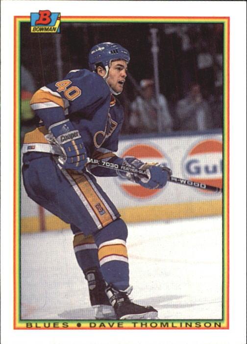 1990-91 Bowman #21 Dave Thomlinson RC
