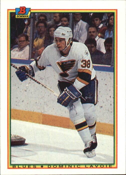 1990-91 Bowman #26 Dominic Lavoie RC