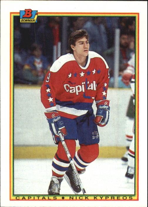 1990-91 Bowman #67 Nick Kypreos RC