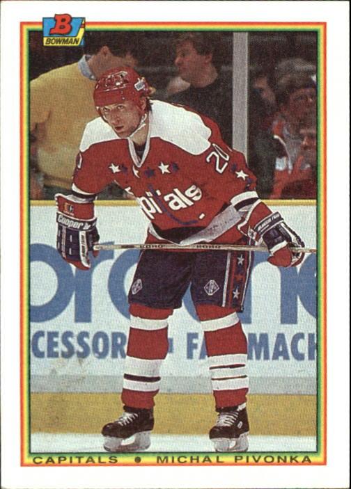 1990-91 Bowman #68 Michal Pivonka RC
