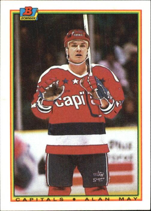 1990-91 Bowman #78 Alan May RC