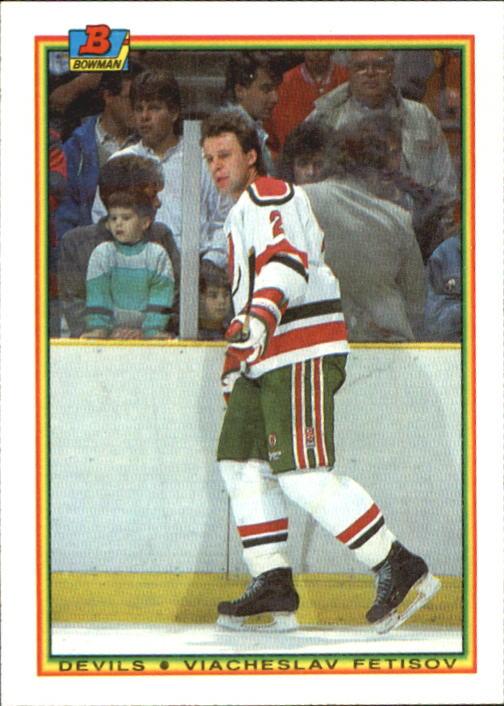 1990-91 Bowman #80 Slava Fetisov RC