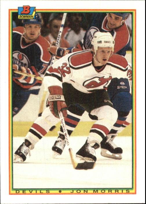1990-91 Bowman #84 Jon Morris RC