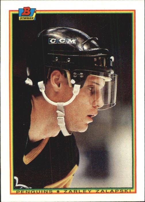 1990-91 Bowman #207 Zarley Zalapski