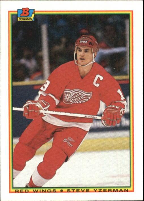 1990-91 Bowman #233 Steve Yzerman