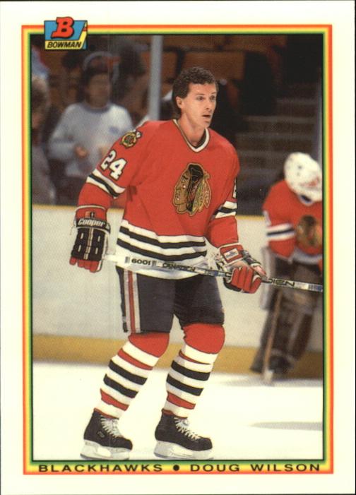1990-91 Bowman Tiffany #2 Doug Wilson