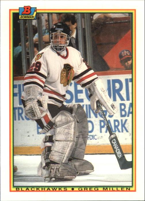 1990-91 Bowman Tiffany #3 Greg Millen