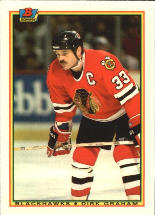 1990-91 Bowman Tiffany #8 Dirk Graham