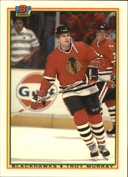 1990-91 Bowman Tiffany #13 Troy Murray