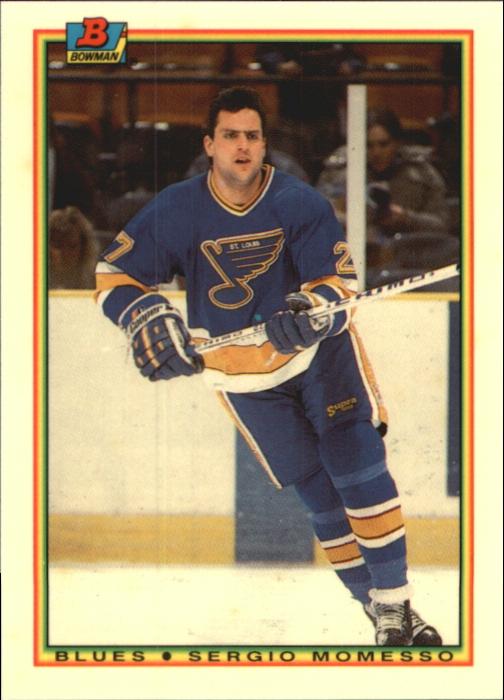 1990-91 Bowman Tiffany #17 Sergio Momesso