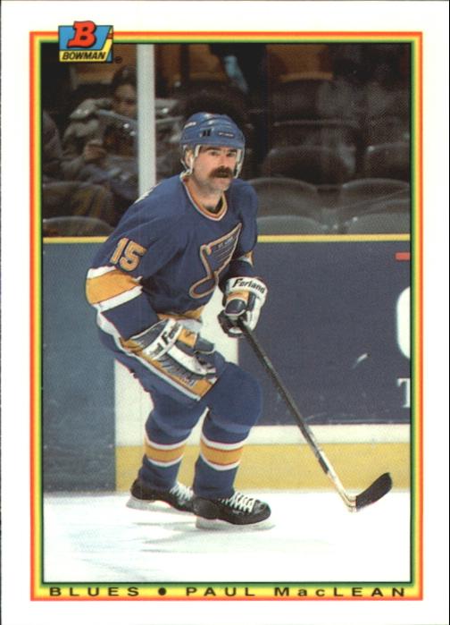 1990-91 Bowman Tiffany #18 Paul MacLean