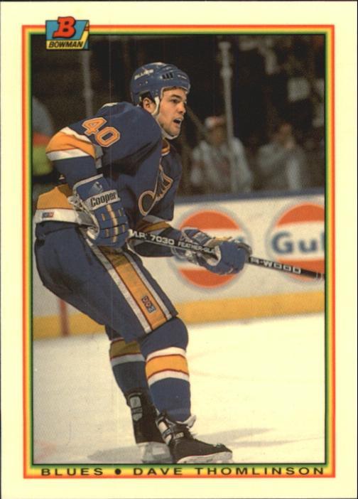1990-91 Bowman Tiffany #21 Dave Thomlinson