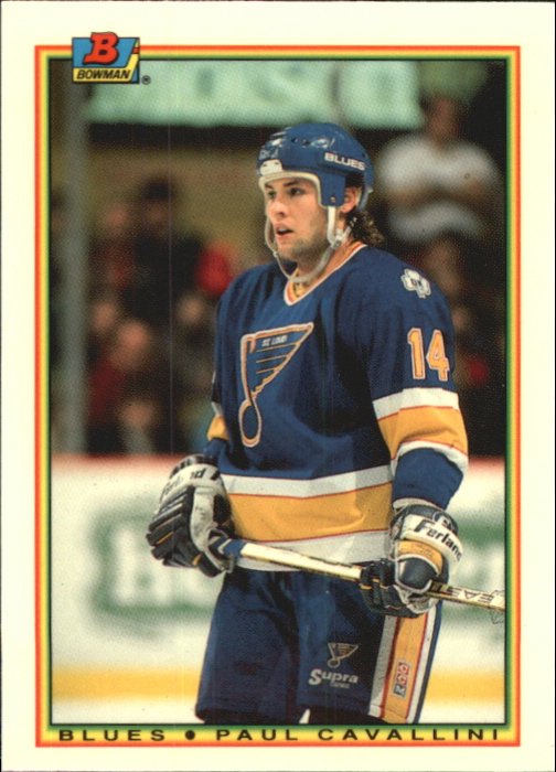 1990-91 Bowman Tiffany #22 Paul Cavallini