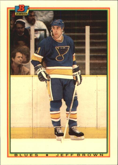 1990-91 Bowman Tiffany #25 Jeff Brown