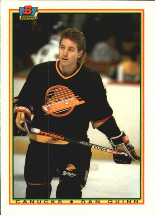 1990-91 Bowman Tiffany #65 Dan Quinn