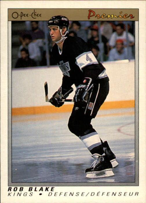 1990-91 OPC Premier #6 Rob Blake RC