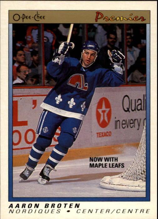 1990-91 OPC Premier #10 Aaron Broten