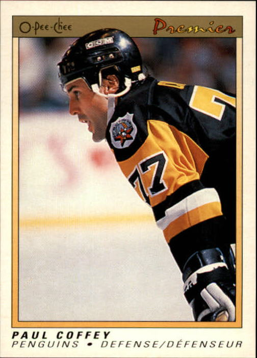 1990-91 OPC Premier #16 Paul Coffey