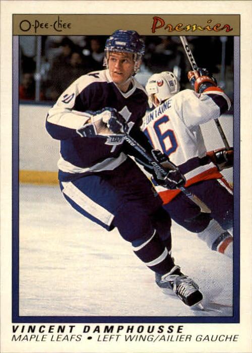 1990-91 OPC Premier #21 Vincent Damphousse