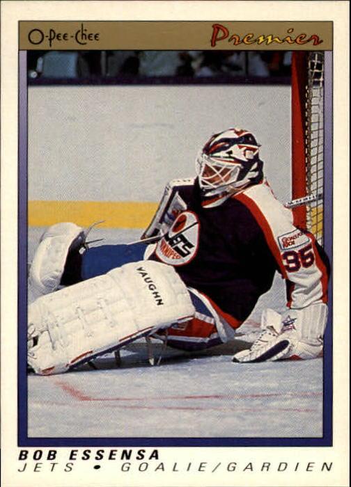 1990-91 OPC Premier #29 Bob Essensa RC