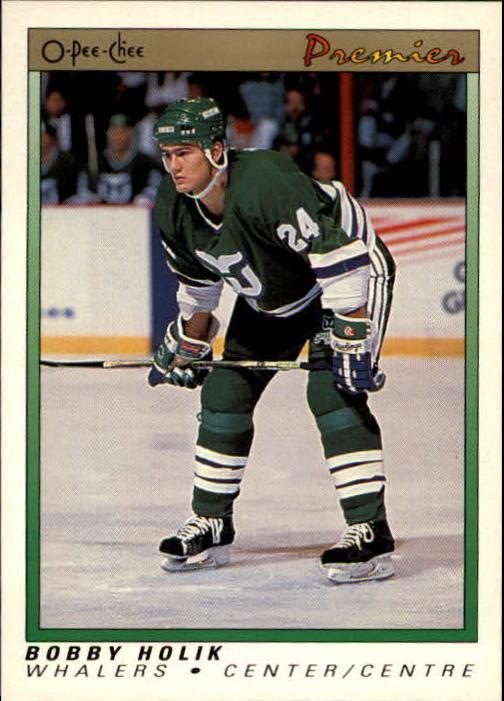 1990-91 OPC Premier #43 Bobby Holik RC