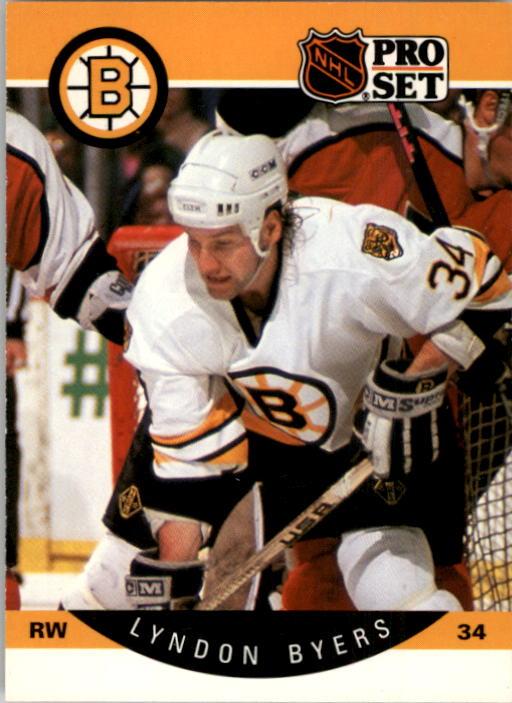 1990-91 Pro Set #3 Lyndon Byers RC