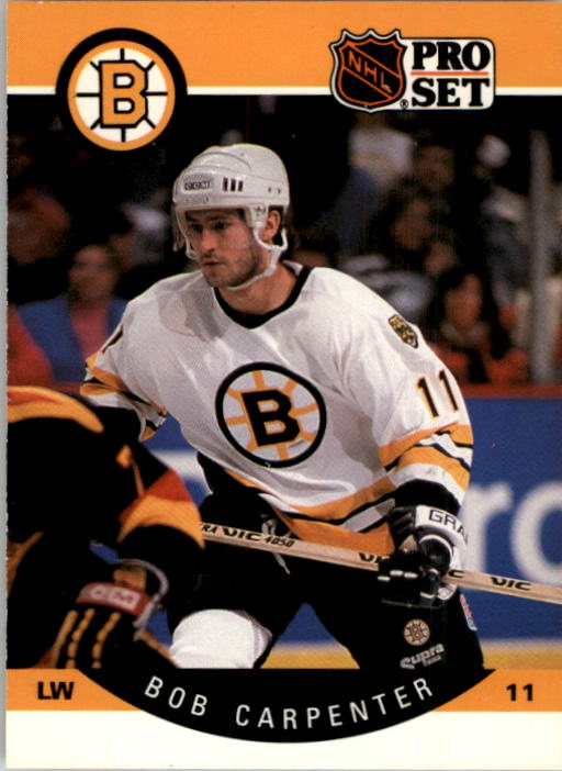 1990-91 Pro Set #4 Bob Carpenter