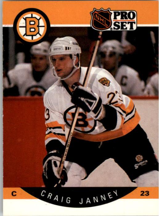 1990-91 Pro Set #8 Craig Janney
