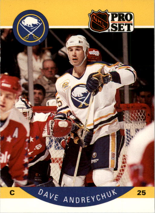 1990-91 Pro Set #17A Dave Andreychuk ERR/(Photo actually Scott/Arniel on back)